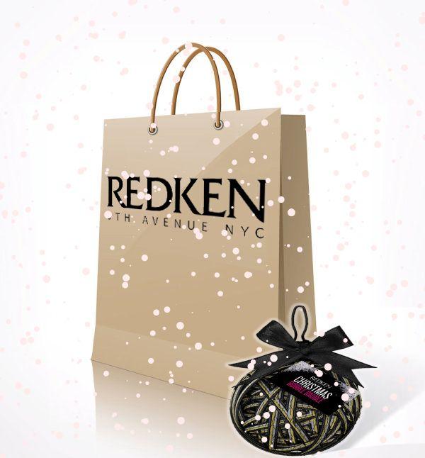Redken Christmas 2014 Paper Shopping Bag.