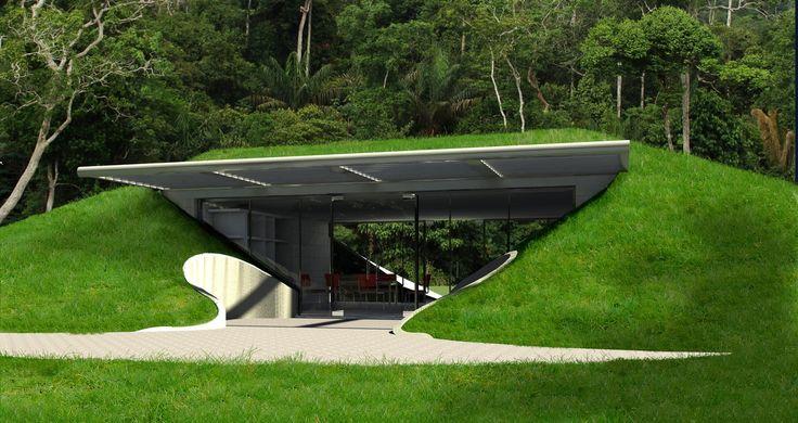 Underground Houses | Underground Home Builders - Baldwin O'Bryan Architects