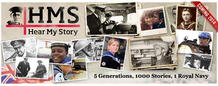 HMS Hear My Story Banner