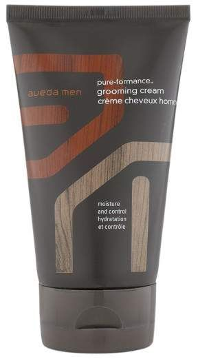 Perfect for wet or dry sculpting!  Aveda Men pure-formance(TM) Grooming Cream. A styling cream that adds pliable hold and control while maintaining a natural look.The conditioning formula gives hair natural shine without unwanted weight or stickiness. Ideal for fine hair, it features a rich, spicy and refreshing aroma with kunzea, citrus and certified-organic essential oils of spearmint, vetiver and lavender.