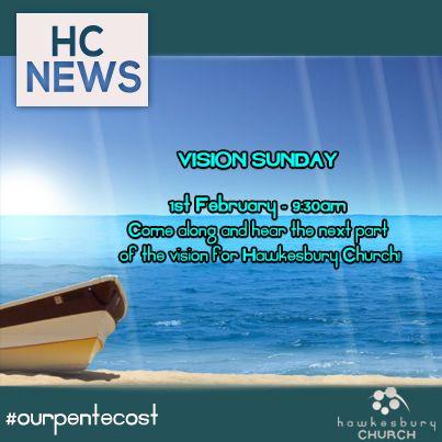 This week at Hawkesbury Church!