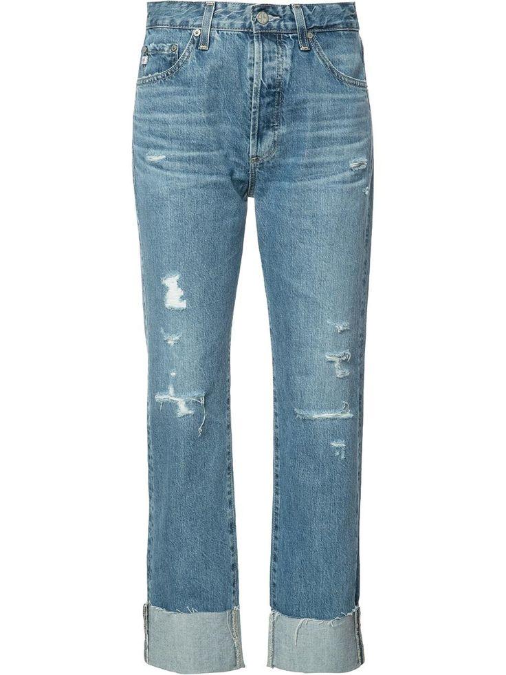 Ag Jeans vaqueros boyfriend estilo capri