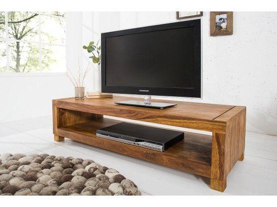 meuble tv en bois de palissandre bruges - Meuble Tv Living Blanc Laque For You