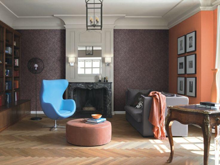 Papel Pintado Rasch Bond Street 726831.  ¡Catálogo Bond Street de Rascha menos de 60 EUROS! El estilo de James Bond y el misterio llegan a esta colección de papeles pintados para decorar grandes salones, espacios abiertos y lofts.