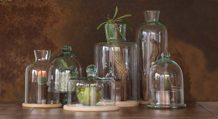 Nasza różnego typu pokrywy, słoje i wazy idealnie nadają się jako pojemniki na zielone lasy tworzone w szkle. Zapraszamy na nasza stronę!