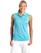 Nike Golf Women's New Tech Pique Sleeveless Polo