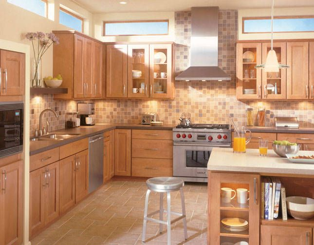 kitchen glaze maple cabinets woodmark prices coupon american mocha to go
