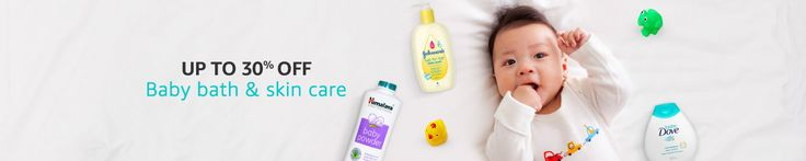 amazon baby care offers : up to 30% OFF on baby bath & skin care for Online shopping for Baby Bathing, Skin Care, Baby Grooming, Gift Packs, Oral Care, Health Care & more @ amazon.in