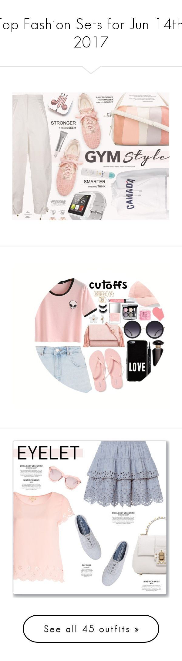"""""""Top Fashion Sets for Jun 14th, 2017"""" by polyvore ❤ liked on Polyvore featuring 10 Crosby Derek Lam, Kenzo, Cole Haan, Dsquared2, PhunkeeTree, Natura Bissé, Dove, Liz Claiborne, Topshop and Old Navy"""