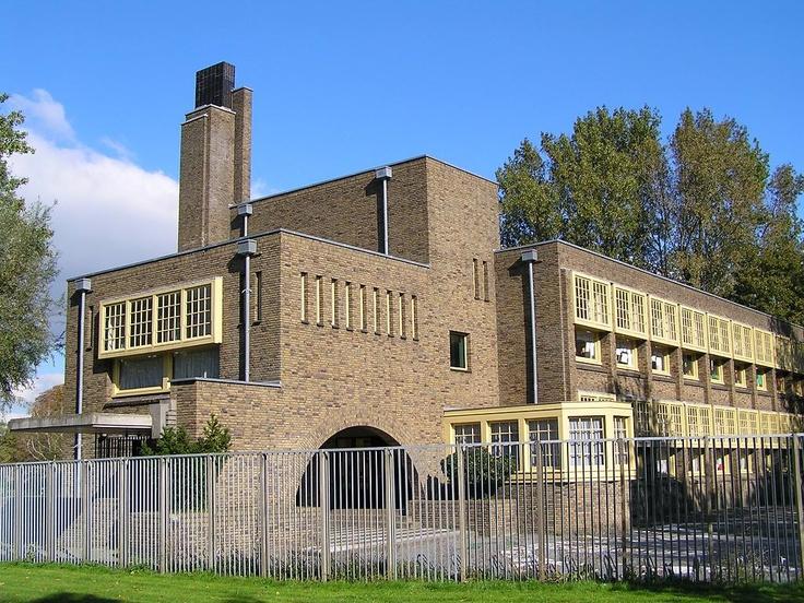 School, Oliemuldersweg, Groningen 1931