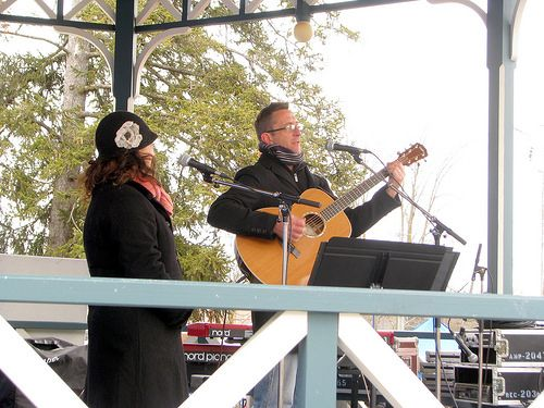 Live music at Elmira Maple Syrup Festival by Laurel L. Russwurm, via Flickr