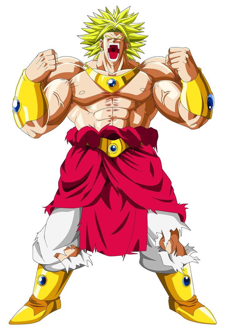 hazle clik en aumentar broly es el mas poderoso de dragon ball z solo gt super etc - malo