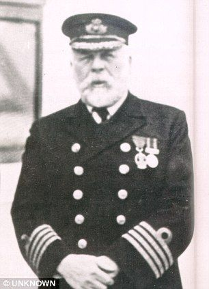 Captain Edward Smith--when we bought our sail boat, my brother asked me if I knew the name of the Captain of the Titanic.  LOL