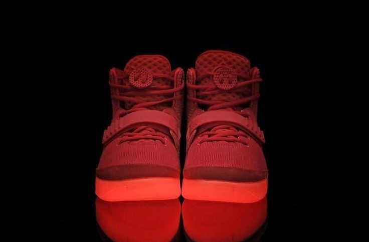 Mens Air Yeezys Black Grey Red shoes