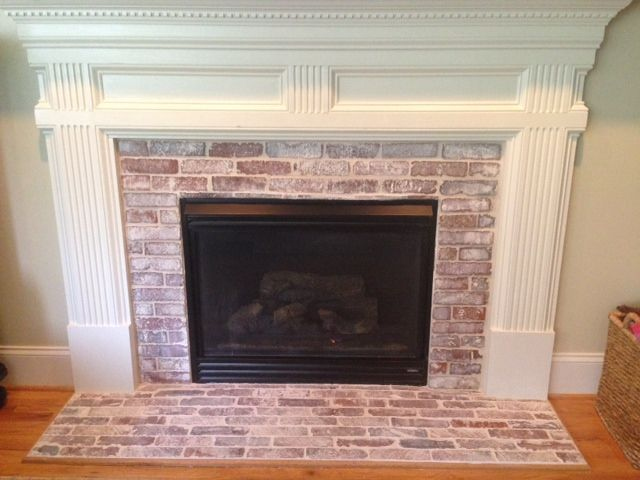 Install Stone Veneers Over Old Brick Fireplace Diy Youtube Best 25+ Exposed Brick Fireplaces Ideas On Pinterest