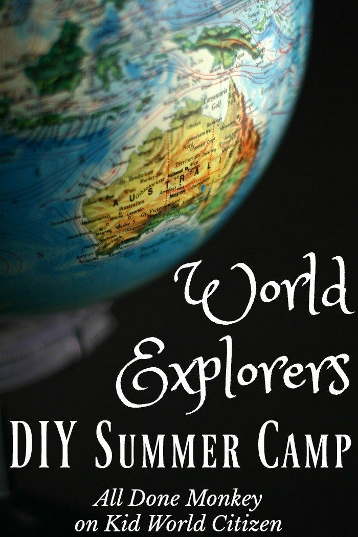 Middle East Map Your Child Learns%0A Around the World Summer Camp  Fun Exploration for Kids