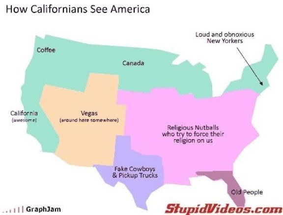 America through the eyes of a Californian