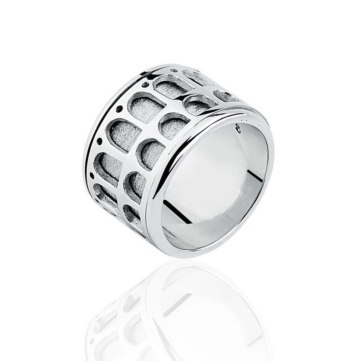 """It is impossible to be more """"carioca"""" - ring from Carioquez brand - """"The Lapa Arch, a historical icon from Rio de Janeiro""""."""