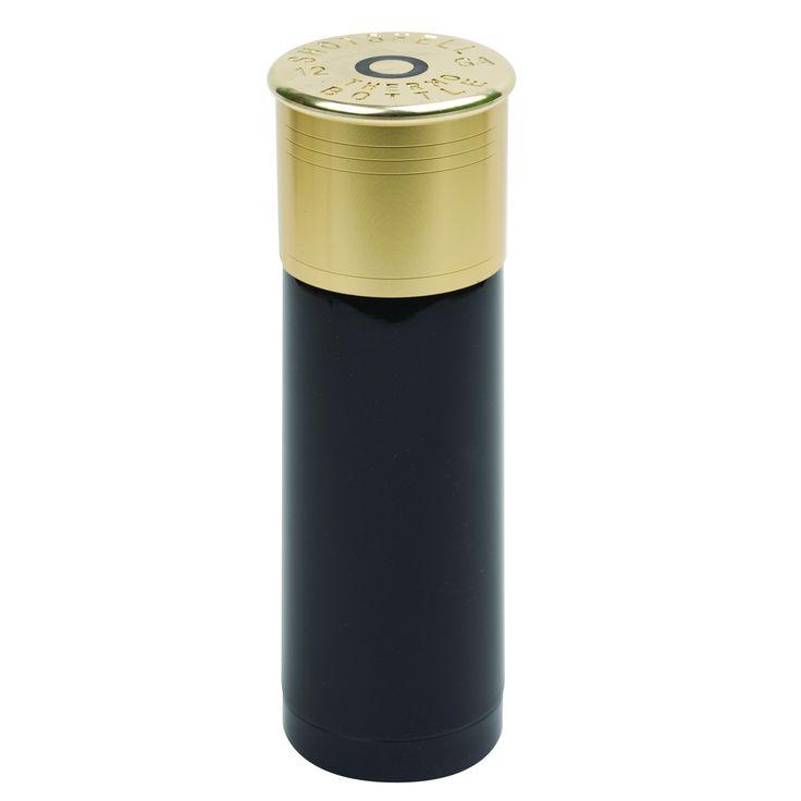 StanSport 25-ounce 12-gauge Shotgun Shell Thermal Bottle