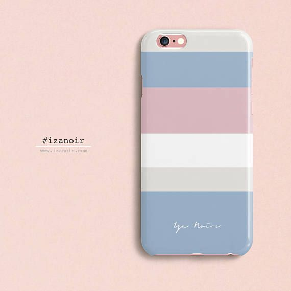 Designer Protective Kate Spade Inspired Tumblr iPhone Case for iPhone 7 6/6s iPhone 7 6/6s Plus Classy Blocks Matte IzaNoirDesignerCases