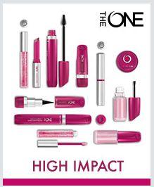 The ONE High Impact meikkilinja