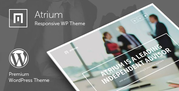 Atrium is a responsive corporate WordPress Theme suitable for business or corporate related projects. The Theme is maintained in a minimalist style with strong color accents. It has a responsive layout that looks great on mobile devices. Tags: wordpress, theme, agency, bank, business, corporate, finance, financial advisor, law, one page, onepage, page builder, parallax, scroll, scrolling, single page, visual composer.