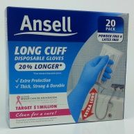 Ansell Long Cuff Disposable Gloves Reviews