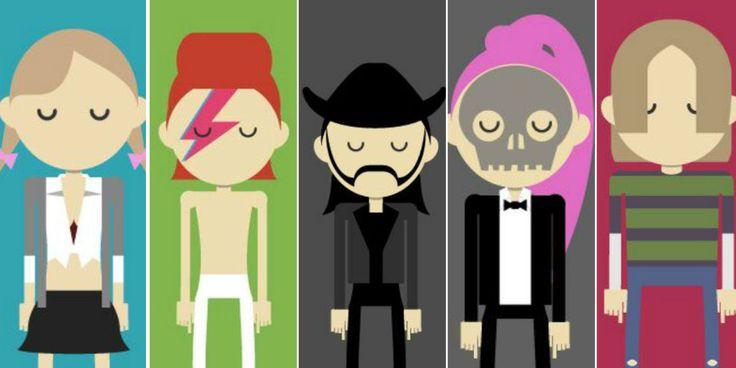 De Bowie a Falete o Beyoncé: grandes voces hechas dibujos