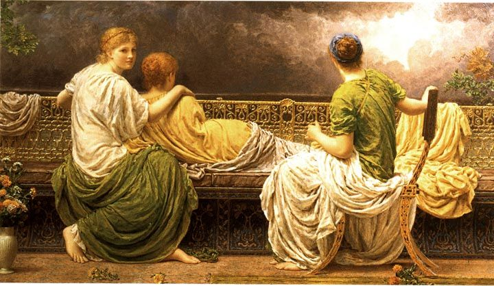 Lightning and Light by Albert Moore