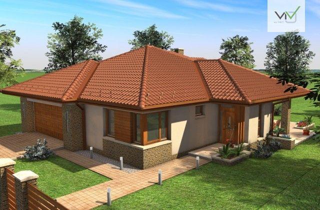 Egyszintes családi ház 169 m2