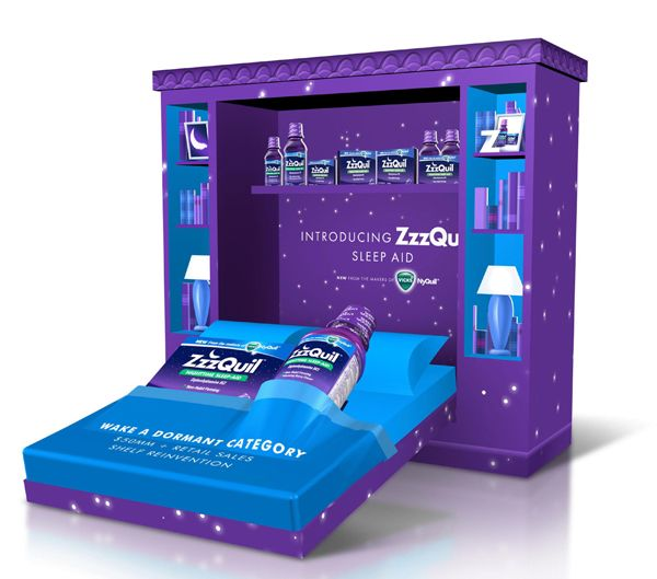 Procter & Gamble Zzzquil Sleep-Aid in-store Marketing Sales Kit from @Philipp Leo Burnett