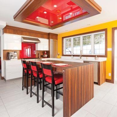 Une cuisine au décor pimpant - Cuisine - Avant après - Inspirations - Décoration et rénovation - Pratico Pratiques