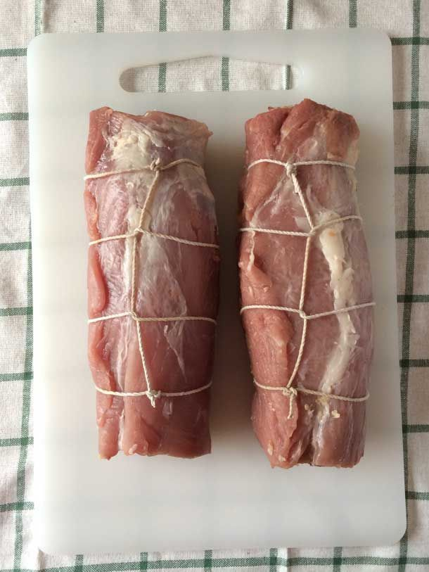 How To Cut and Tie a Pork Loin for Stuffing - Simple Seasonal