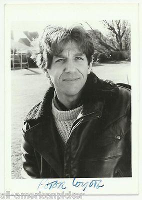 PETER COYOTE TV & MOVIE ACTOR ORIGINAL VINTAGE AUTOGRAPH SIGNED PROMO PHOTO