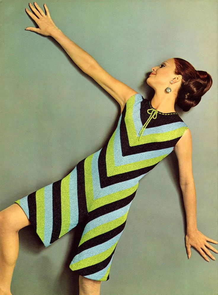 1960s knitting fashion