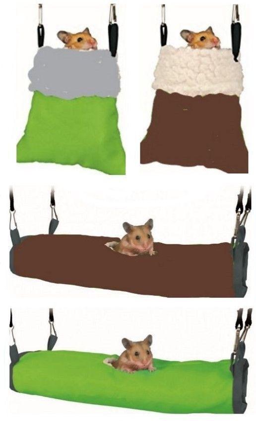 Cuddle Snuggle Bag Sack Hanging Hammock - Snuggle Tunnel Bed Hamster Mice Gerbil #Trixie
