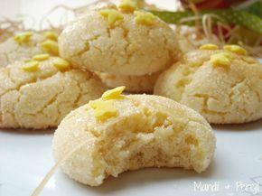 Galletas de limon glaseadas, de Mandil & Perejil. #galletas #limon #mandilyperejil.