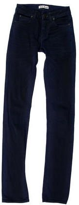 Acne Mid-Rise Straight-Leg Jeans