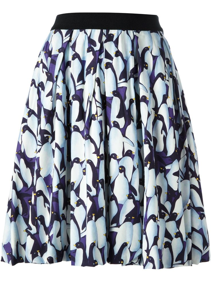 I would rock this penguin skirt. EGGS - Seine skirt 6