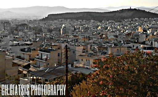 "Athens, Greece view from ""neos kosmos"""
