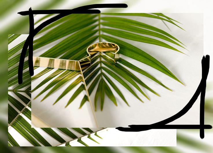 Hanger.37 in brass by Dalili design