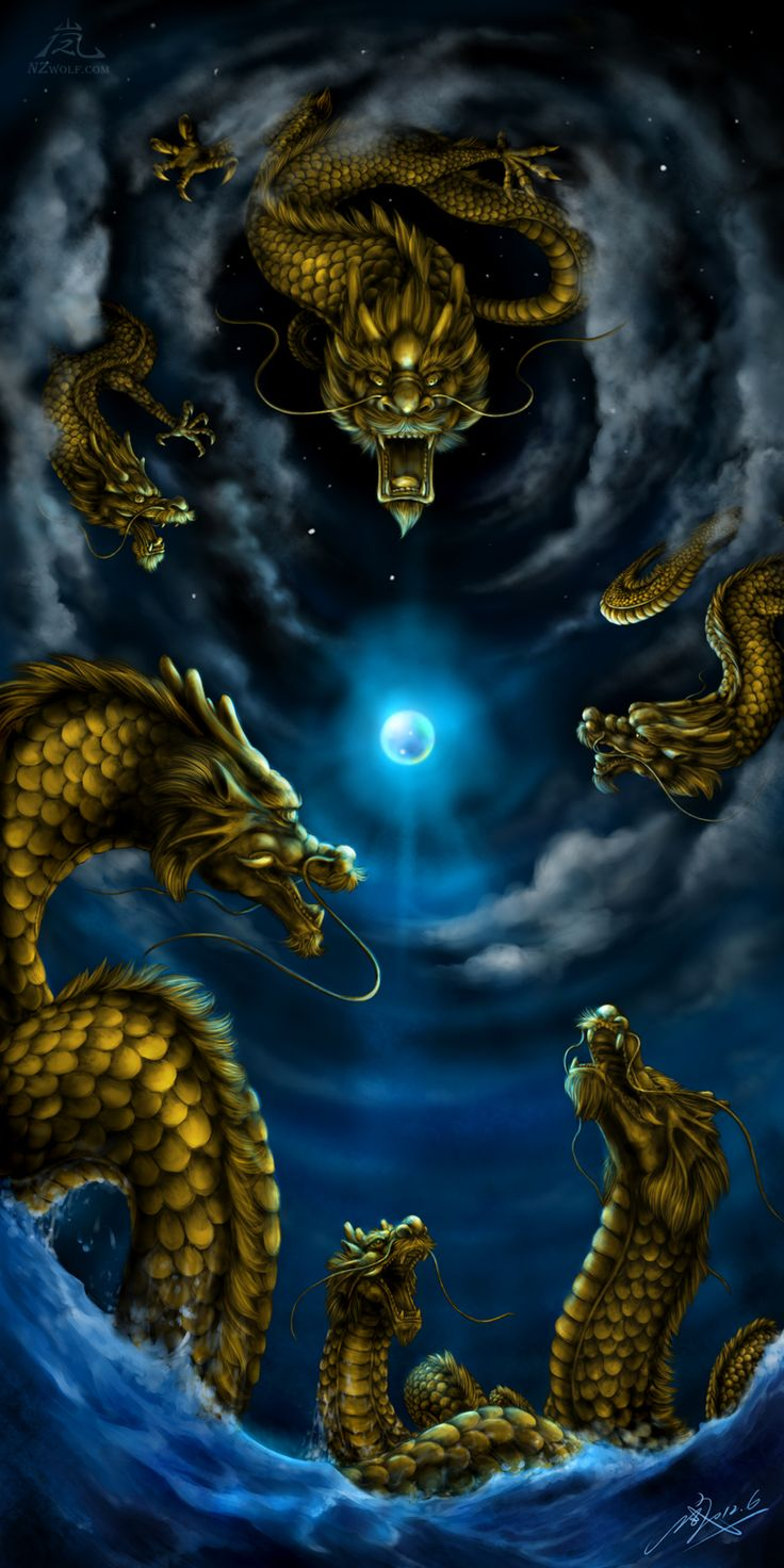 The Six Dragons by Niccolan Zilver (NZ Wolf) - Website