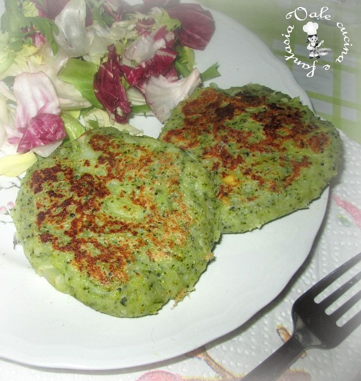 Hamburger di patate e broccoli,ricetta vegetariana