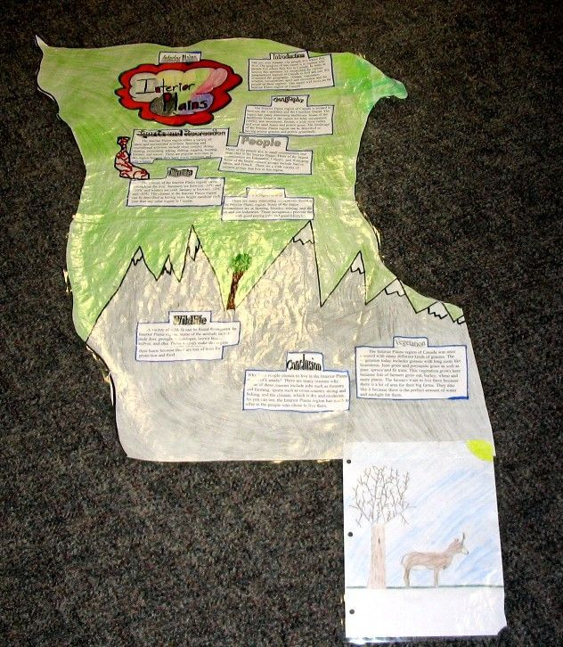Canadian Geography: Interior Plains student report