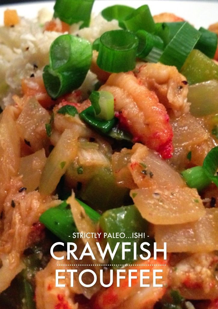 Paleo Heather's Crawfish Etouffee