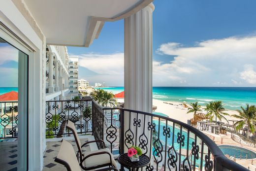 Enjoy oceanfront from your balcony suite at our all-inclusive Cancun resort. Hyatt Zilara Cancun offers a luxury escape on Mexico's Coast with stunning views of the Caribbean Sea. Find your bliss with sparkling pools and white beaches in an all-inclusive paradise. | Hyatt Zilara Cancun