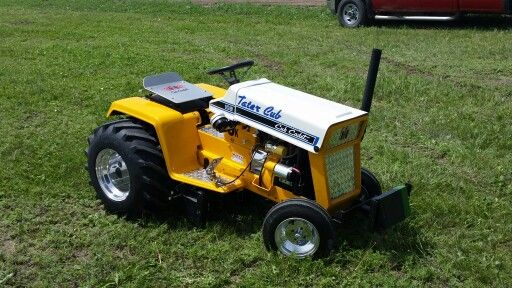 Cub Cadet Pulling Wheels : Best images about tractors on pinterest gardens john