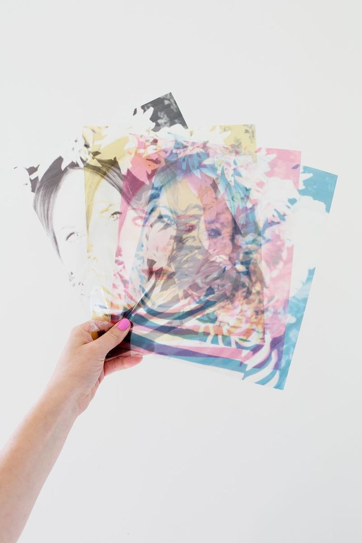 CMYK Photo Dissection Display