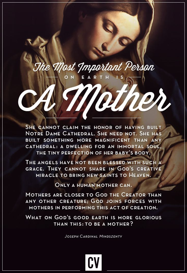 Happy Mother's Day from CatholicVote.org!