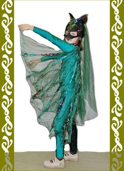 kostým netopýr, Ladana